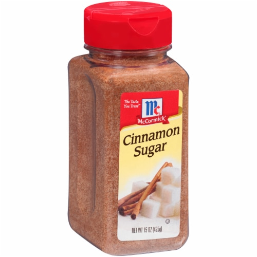 McCormick Cinnamon Sugar Perspective: left