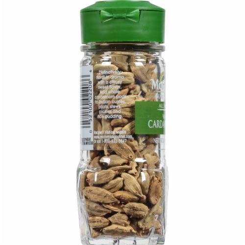 McCormick Gourmet All Natural Whole Cardamom Pods Perspective: left