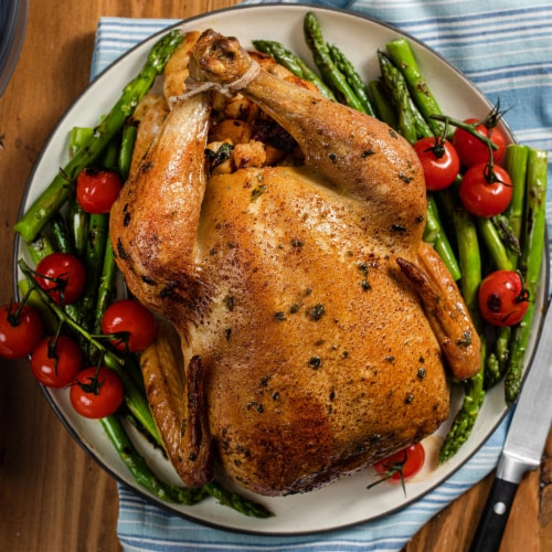McCormick Gourmet Organic Cracked Black Pepper Perspective: left