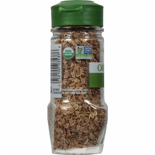 McCormick Gourmet Organic Dill Seed Perspective: left