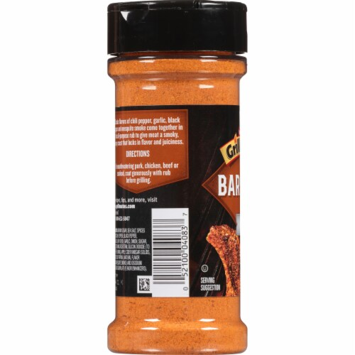 McCormick Grill Mates Barbecue Rub Perspective: left