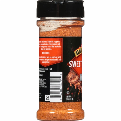 McCormick Grill Mates Sweet & Smoky Rub Perspective: left