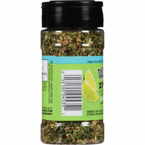 McCormick Tasty Zing Cilantro Lime Zest & Garlic Seasoning Perspective: left