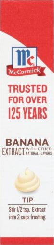 McCormick Banana Flavor Extract Perspective: left