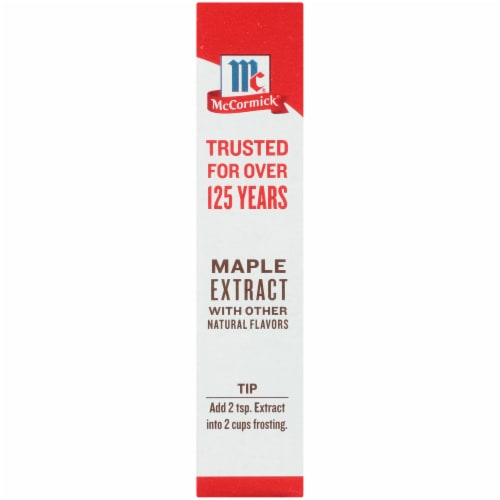 McCormick Maple Extract Perspective: left