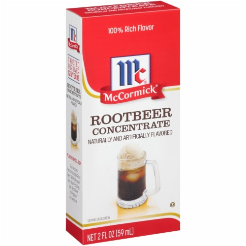 McCormick Natural & Artificial Flavored Root Beer Concentrate Perspective: left