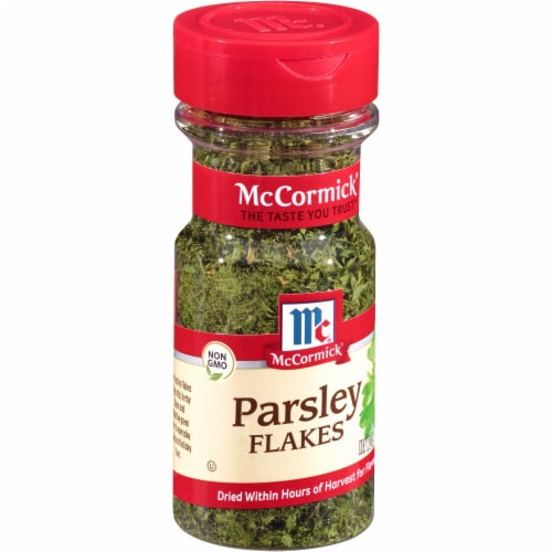 McCormick Parsley Flakes Shaker Perspective: left