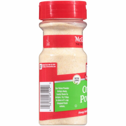 McCormick Onion Powder Perspective: left