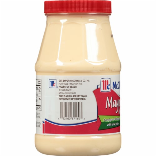 McCormick Mayonesa Mayonnaise with Lime Perspective: left