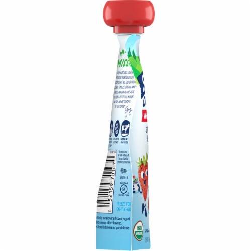 Stonyfield® Organic Strawberry Beet Berry Whole Milk Yogurt Perspective: left