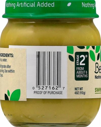 Beech-Nut Sweet Peas Stage 2 Baby Food Perspective: left