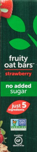Beech-Nut Naturals Strawberry Fruity Oat Bars Perspective: left