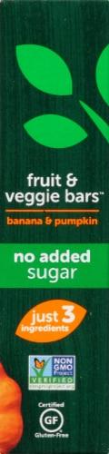 Beech-Nut Naturals Banana & Pumpkin Fruit & Veggie Bars Perspective: left