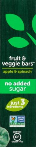 Beech-Nut Apple & Spinach Fruit & Veggie Bars Perspective: left