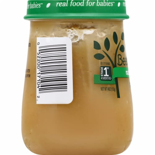Beech-Nut® Naturals Stage 1 Pears Baby Food Perspective: left
