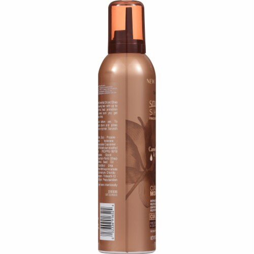 Smooth 'N Shine Camellia Oil & Shea Butter Curl Defining Mousse Perspective: left