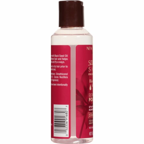 Smooth 'N Shine Black Seed & Coconut Oil Straight Repairing Polisher Perspective: left