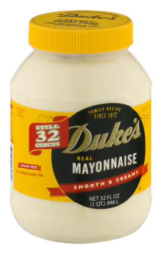 Duke's Real Mayonnaise Perspective: left