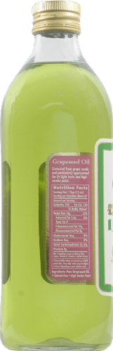 Sadaf Pure Grapeseed Oil Perspective: left