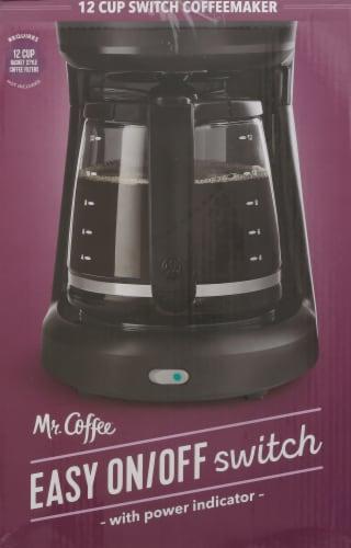 Mr. Coffee® Switch Coffeemaker - Black Perspective: left