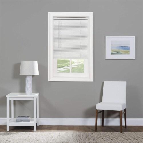 Achim GII Morningstar 43 x 64 Inch Cordless Vinyl Window Light Filtering Blinds Perspective: left