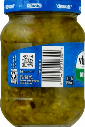Vlasic Dill Relish Perspective: left