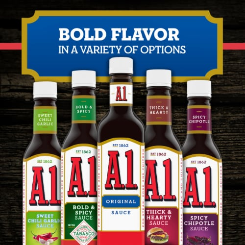 A.1. Original Steak Sauce Perspective: left