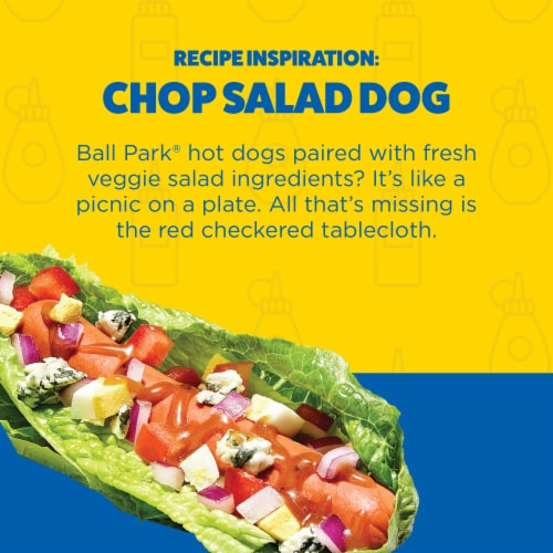 Ball Park® Smoked White Meat Turkey Franks Perspective: left