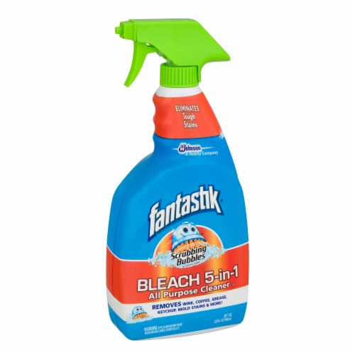 Fantastik All-Purpose Cleaner with Bleach Perspective: left