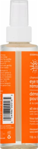 Earth Science Chamomile & Green Tea Eye Makeup Remover Perspective: left