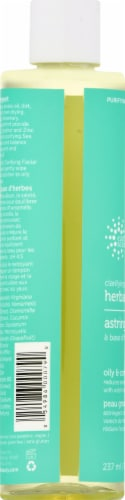 Earth Science Clarifying Herbal Astringent Perspective: left