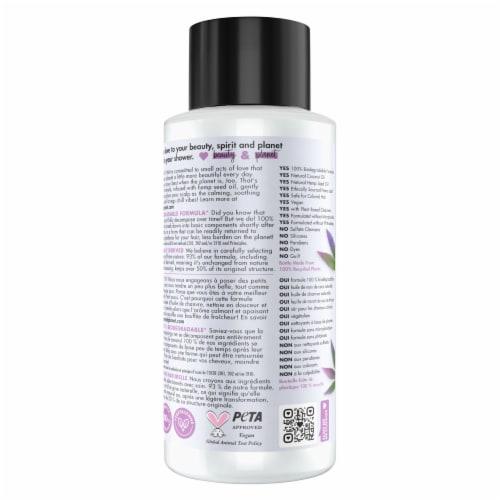 Love Beauty and Planet Hemp Seed Oil & Nana Leaf Shampoo Perspective: left