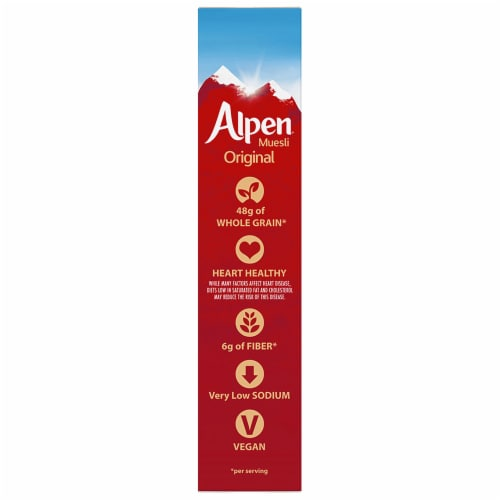 Alpen Original Muesli Cereal Perspective: left