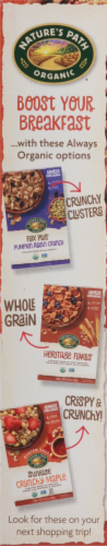 Nature's Path Organic® Flax Plus® Maple Pecan Crunch Cereal Perspective: left