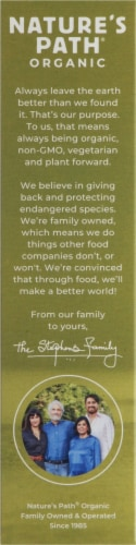Nature's Path Organic Pumpkin Seed Plus Flax Granola Perspective: left