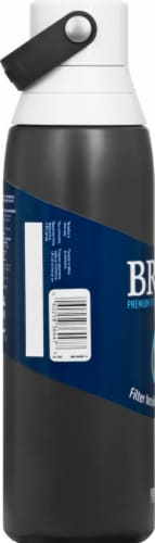 Brita Premium Filtering Water Bottle - Carbon Perspective: left