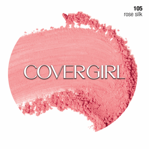 CoverGirl Cheekers Rose Silk Blush Perspective: left