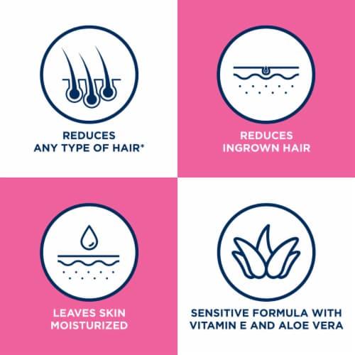 Veet Sensitive Skin Legs & Body Hair Remover Gel Cream Perspective: left