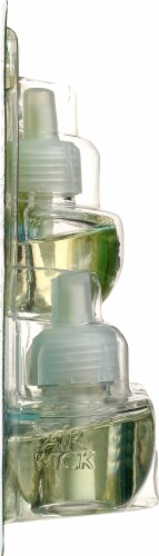 Air Wick Essential Oils Blue Agave & Bamboo Refills Perspective: left