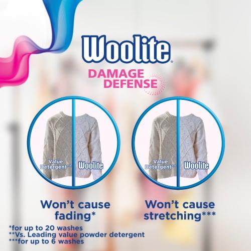 Woolite Clean & Care Sparkling Falls Scent Liquid Laundry Detergent Perspective: left