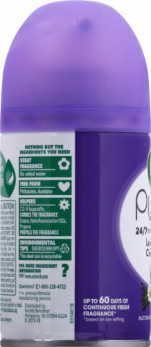 Air Wick® Lavender & Chamomile Fragrance Automatic Spray Refill Perspective: left