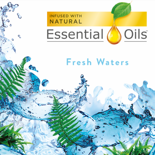Air Wick® Fresh Waters Scented Oil Refills Perspective: left