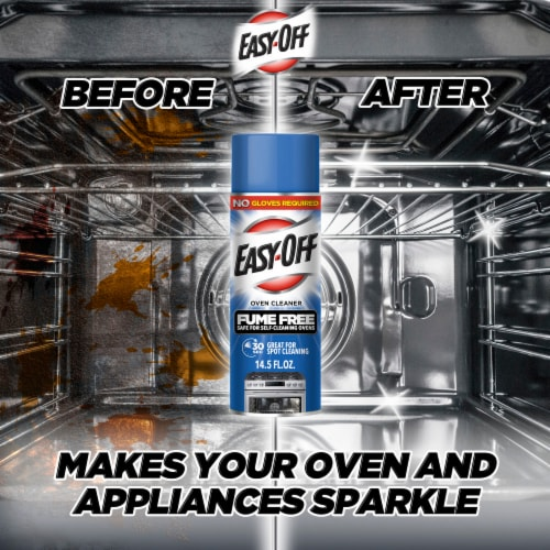 Easy Off Fume-Free Oven Cleaner Perspective: left