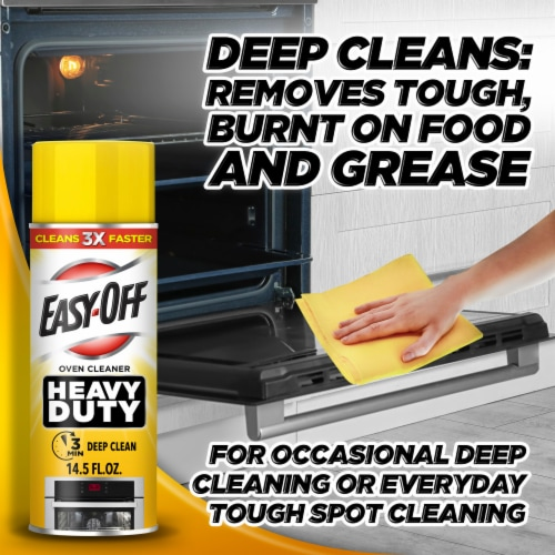 Easy Off Heavy Duty Oven Cleaner Perspective: left