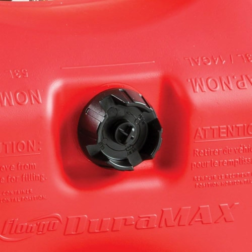 Flo N Go DuraMax Plastic Portable Fuel Container 14 gal. - Case Of: 1; Perspective: left