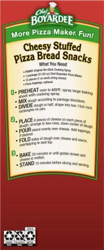Chef Boyardee Pizza Maker Pepperoni Pizza Kit Perspective: left