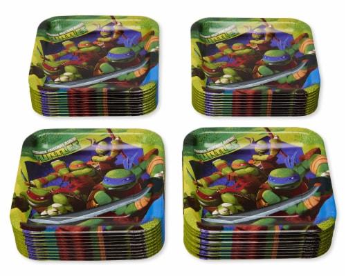 American Greetings Teenage Mutant Ninja Turtle Paper Dinner Plates Perspective: left