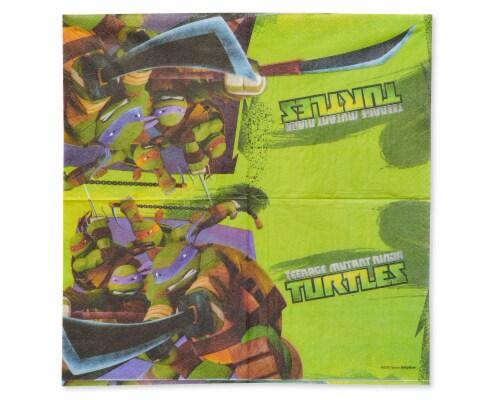American Greetings Teenage Mutant Ninja Turtle Paper Lunch Napkins Perspective: left