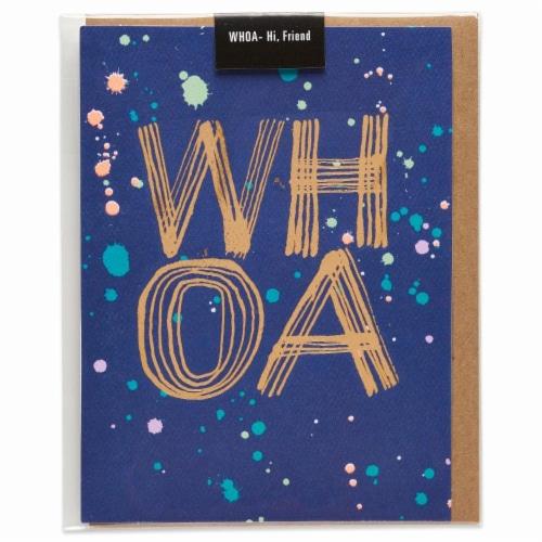 American Greetings (S24) WHOA - Hi Friend Card Perspective: left