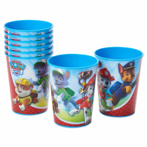 American Greetings PAW Patrol Plastic Party Cups Perspective: left
